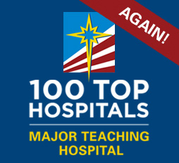 100 Top Hospitals. Major Teaching Hospital.